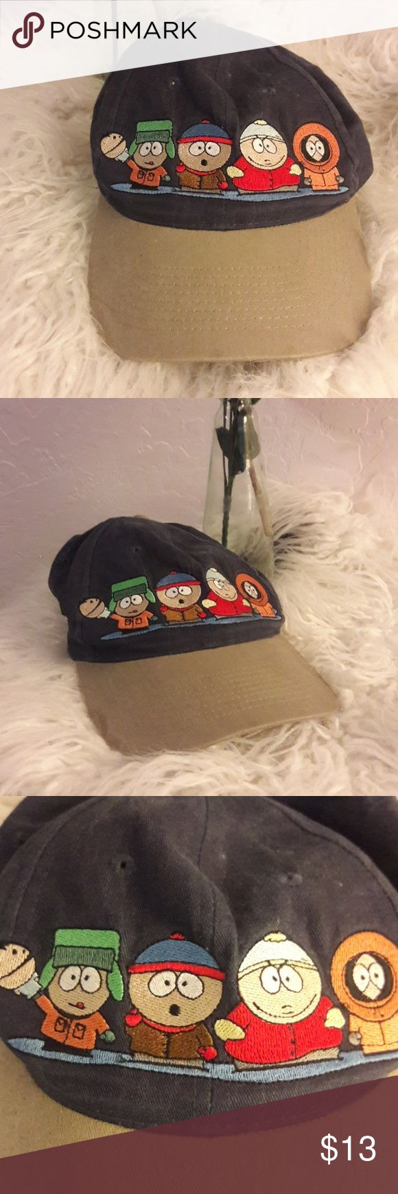 Vintage 1998 South Park baseball hat 1998 Comedy Central South Park baseball hat Comedy Central Accessories Hats