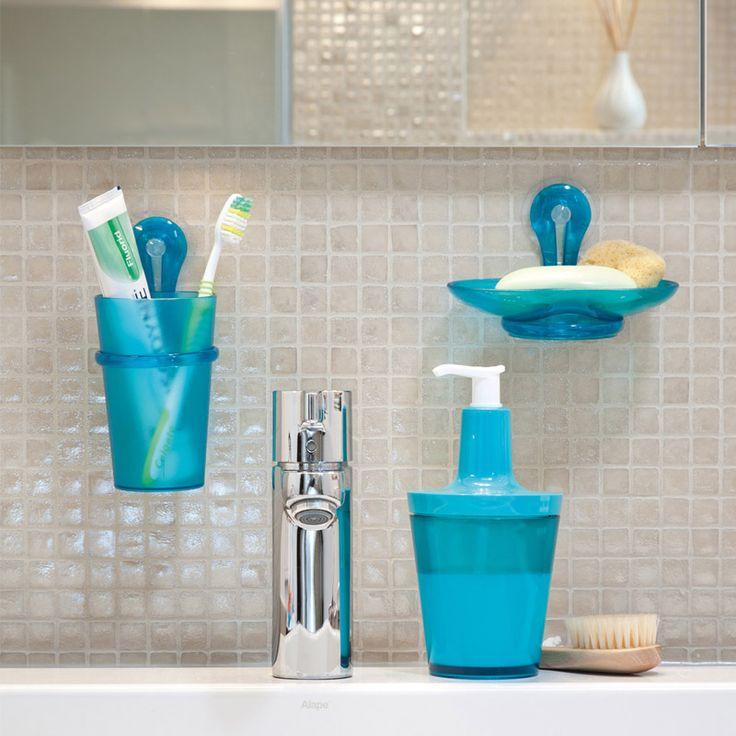 Dozownik do mydła niebieski - Koziol - Flow