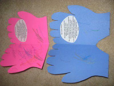 Maundy Thursday prayer hands http://sowingmustardseeds.blogspot.com/2009/04/holy-thursday-praying-hands.html