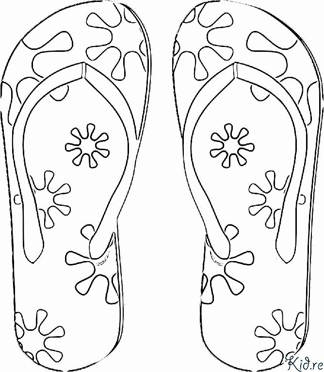 Flip Flop Coloring Page Fresh I Love Coloring Pages Flip Flops Coloring Pages Bug Coloring Pages Coloring Pages Love Coloring Pages