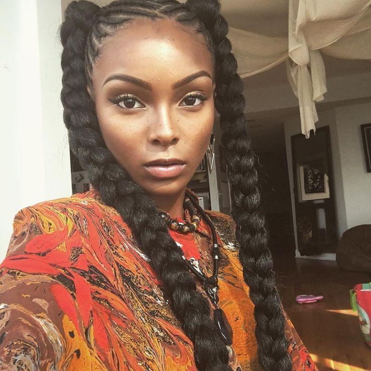 25+ best ideas about Two goddess braids on Pinterest | 2 ...