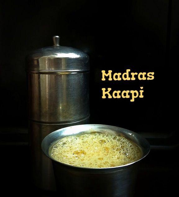 Madras degree coffee
