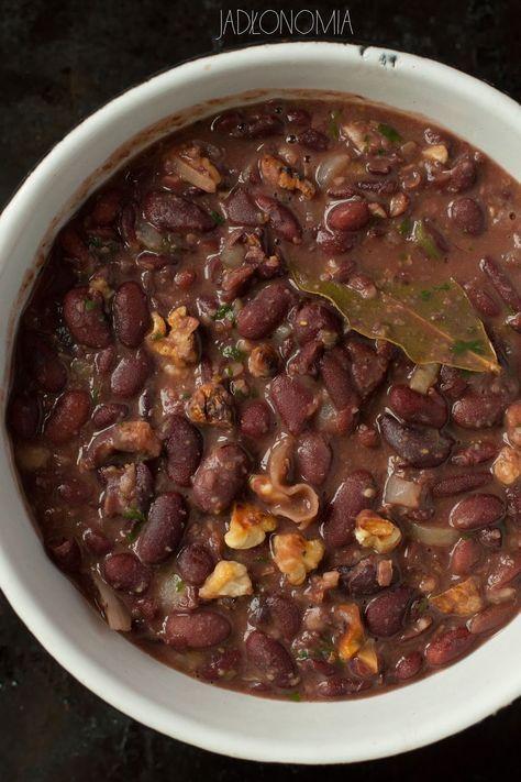 jadłonomia · roślinne przepisy: Lobio, czyli gulasz z fasoli