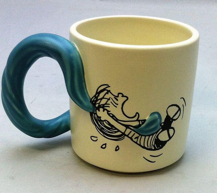 Hallmark 1 PAJ1189 - Linus W/ Snoopy & Blanket Mug