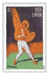 Innovative Choreographers Forever Stamps - Jose Limon