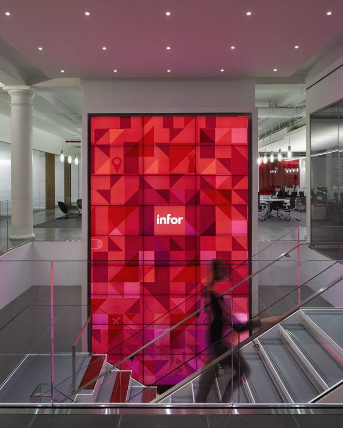 1 Media Wall 700x875 Infors Collaborative New York City Headquarters