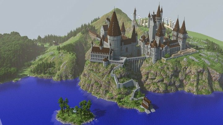 The Real Hogwarts Download Minecraft Project Hogwarts Minecraft Minecraft Castle Minecraft Castle Blueprints