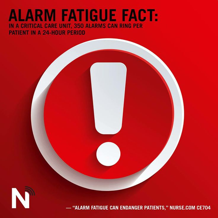 alarm fatigue in healthcare In this article which was published in healthcare business today, michael wong, jd (founder and executive director, physician-patient alliance for health & safety.