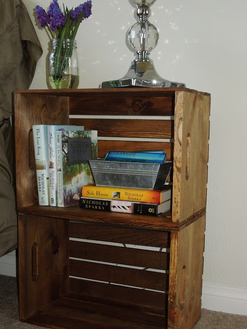 25 best images about Crate Furniture and Storage on Pinterest