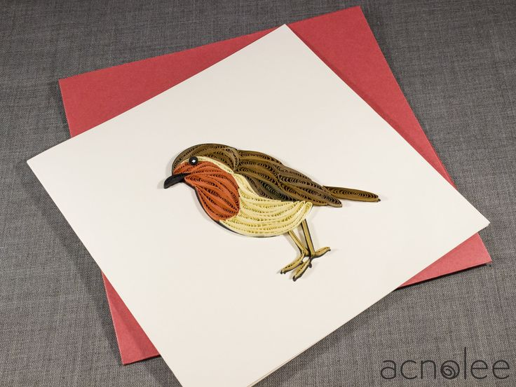 Handmade Quilled Greeting Cards by Acnolee UK. Available on Etsy