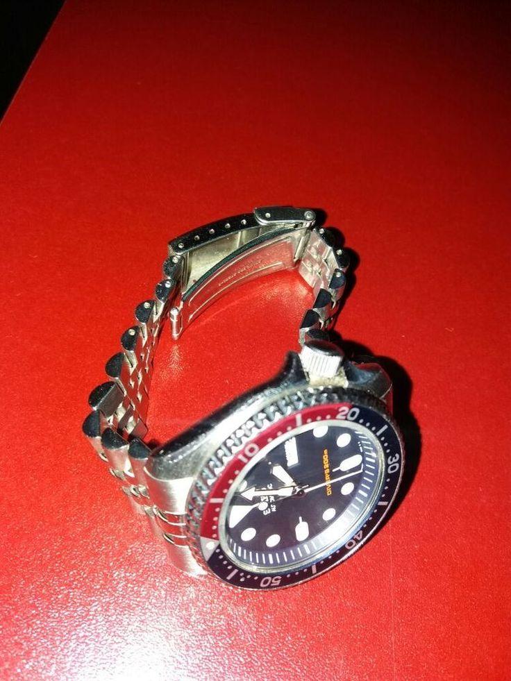 Seiko Automatic 200m Scuba Diver's Watch 7s26-0020 Stainless #Seiko