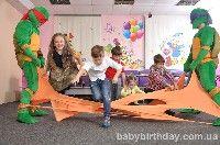 Детский день рождения в стиле Спасатели черепашек нинзя Киев - фото 30