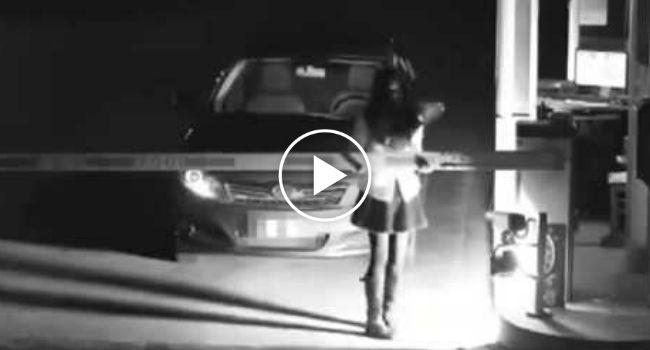 Rapariga Finge Ser Um Fantasma Para Evitar Pagar Estacionamento