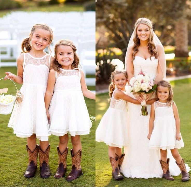The ballerina flower girl dresses which match the flowers-new lovely short lace toddler flower girls dresses 2016 crew neck sleeveless country wedding style pageant party dresses for girls is offered in dressave and on DHgate.com beaded flower girl dresses along with bridal flower girl dresses are on sale, too.