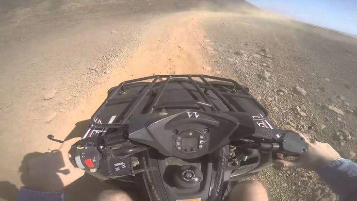 Quad biking in the desert, Cape Verde - www.wandervibe.com #travel #movie #quad #bike #desert #travelblog #capeverde #africa