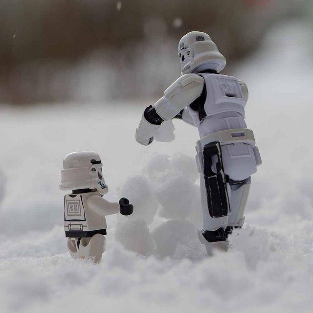 Best Stormtrooper Images On Pinterest Lego Star Wars Storm - Adorable chipmunks go on playful adventures with lego star wars toys