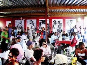 Meat lovers and #culture vultures will enjoy the atmosphere at Mzoli's on Sundays.  #Gugulethu's most famous braai (or barbecue) gathers people from all around the world to enjoy a good beer, a good laugh and a lot of freshly cooked #meat.  When you're done, be our guest http://oceanview-house.com/  #eat #yum #local #capetown #stay #wow #food #wheretoeat