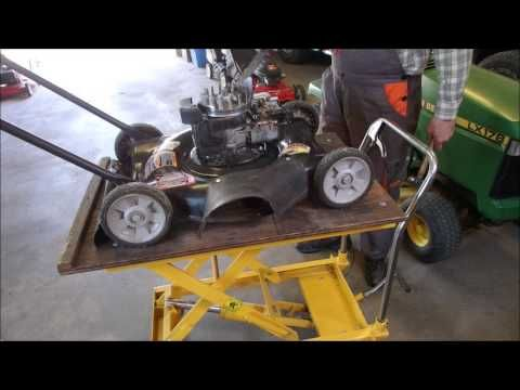 HOW TO FIX a Lawn Mower by Cleaning the Carburetor - YouTube | DIY