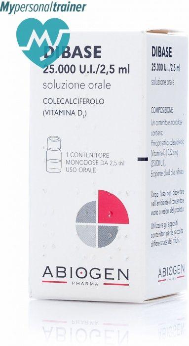Dibase: vitamina D3 - colecalciferolo. Per ritrovare il buonumore, per rinforzare ossa, denti, capelli e unghie.