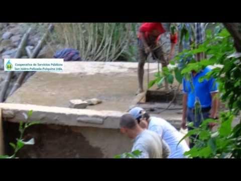 Progetto Acqua Potabile in Bolivia. I #volontari #ACCRI Alice e Andrea raccontano l'avanzamento dei lavori per portare l' #acqua #potabile alle Comunità del bacino del #fiume #SanIsidro (#Comarapa, #Bolivia).