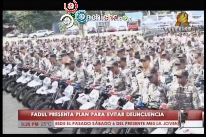 Interior Y Policía Dice Que La Delincuencia Se Reduce Combatiendo La Pobreza Y Creando Empleos #Video