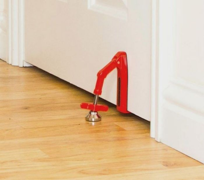 Portable Door Jammer Gives You Extra Security, Wherever You Are. For The Paranoia In All Of Us