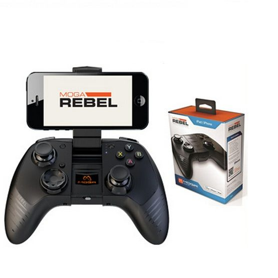 Moga Rebel Premium iOS Gaming Controller for iphone/iPad/iPod US $79.98 To Buy Or See Another Product Click On This Link  http://goo.gl/EuGwiH