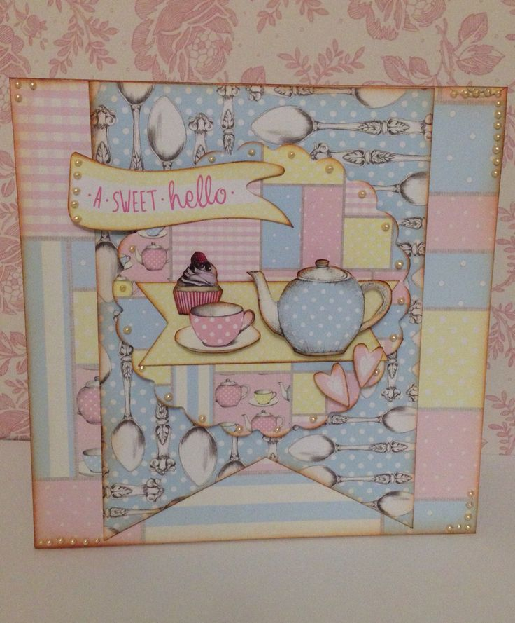 Craftwork Cards 'Love a Cuppa' collection... Scrumptious!