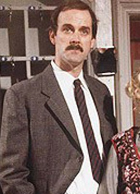 Basil Fawlty, John Cleese: Fawlty Towers.