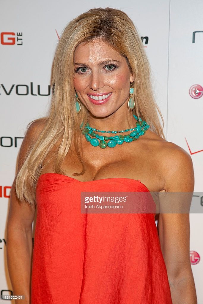 Torrie Wilson attends the LG Revolution party hosted by Verizon at The Sayers Club on August 17, 2011 in Hollywood, California.