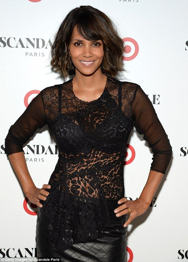 Sexy new venture: Halle Berry has invested in Scandale, an 80-year-old lingerie label that will launch in Target