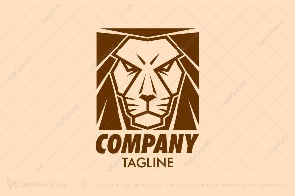 Logo for sale: Brown Lion  Logo