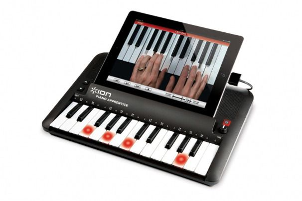 Ion Audio Piano Apprentice: It's Cool  For what you might pay a live teacher for a handful of lessons, you can buy Ion Audio Piano Apprentice for iPad, iPod, and iPhone, and learn to play piano whenever it's convenient for you.: Living Teacher, Ipod
