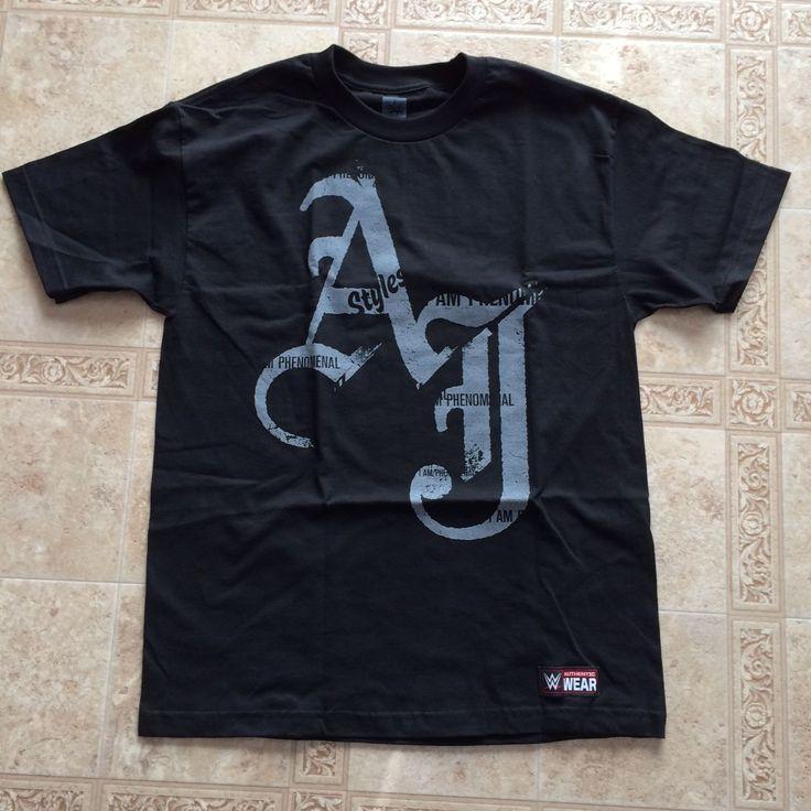 AJ Styles WWE Authentic I AM PHENOMENAL T-shirt Men's LARGE Brand New - http://bestsellerlist.co.uk/aj-styles-wwe-authentic-i-am-phenomenal-t-shirt-mens-large-brand-new/