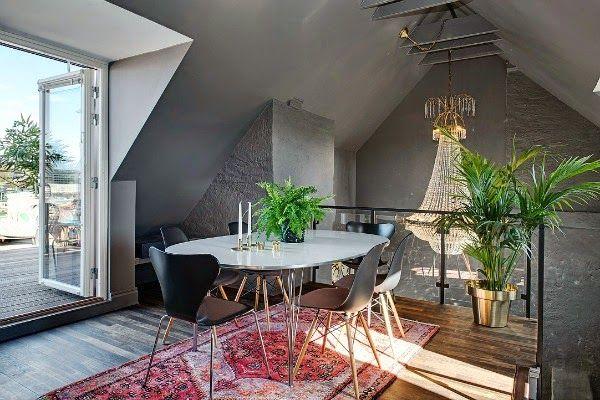 Inspiring attic