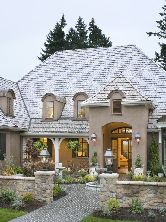 french country elegance traditional exterior portland alan mascord design associates inc
