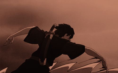 Wan & Zuko {gif}~ I LOST ALL MY SHIT AT THIS PART