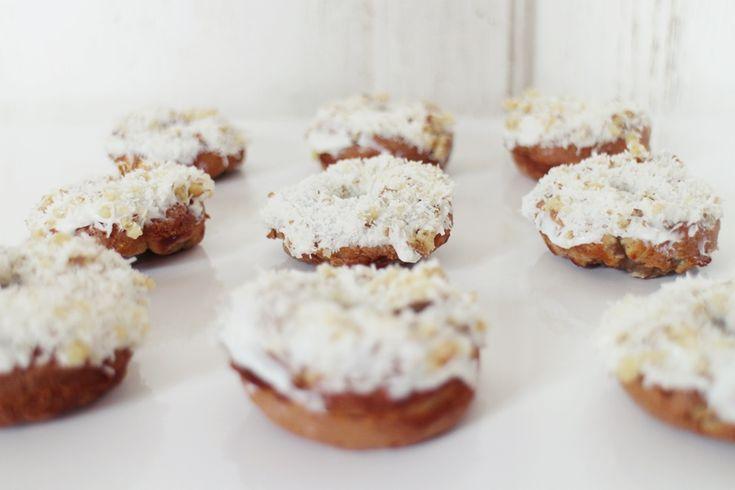 Donut fit de zanahoria * AURORA VEGA