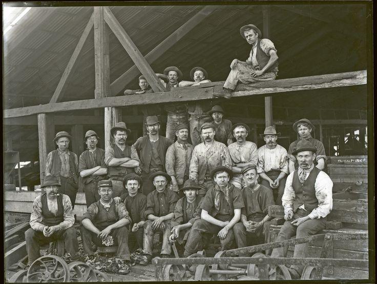 Top men, Raspberry Gully, Charlestown, NSW, 24 June 1898