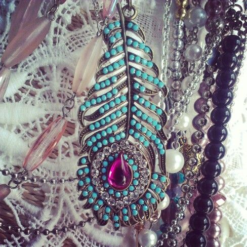 Boho chic necklace