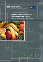 Nutrient Reference Values for Australia and New Zealand Including Recommended Dietary Intakes | National Health and Medical Research Council