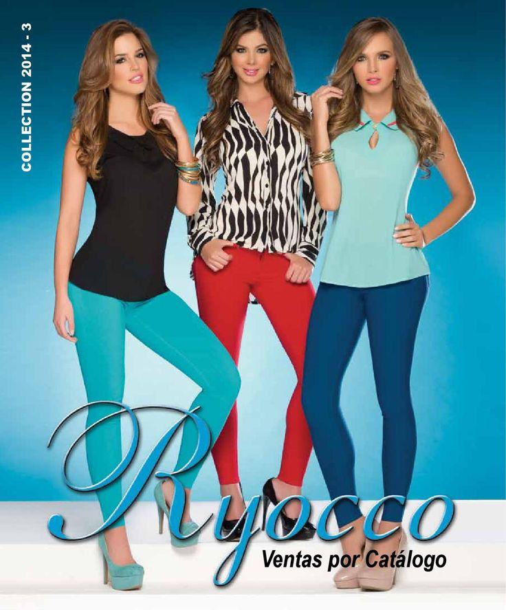 Catálogo Ryocco 2014-3  Te presentamos nuestra nueva colección, diseños realmente hermosos y especiales para ti.