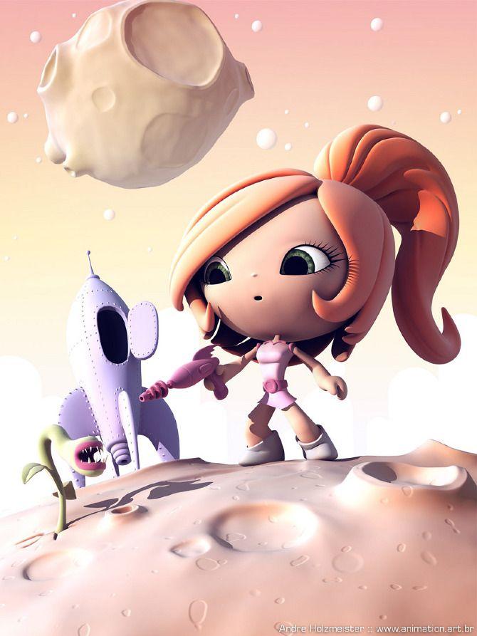 Spacegirl - André Holzmeister Portfolio