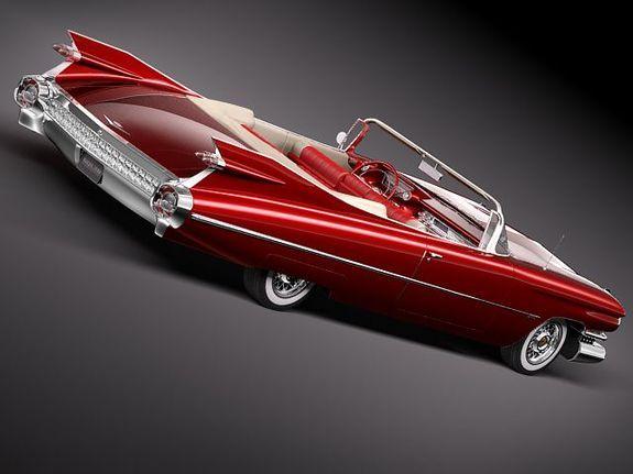 59 Cadillac convert
