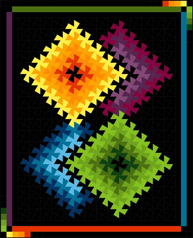 Quilt Moments – Twister Illusions