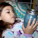 Calm Down Jar. Sometimes time-outs only cause a bigger eruption of emotions and never seem to work the way intended. A calm down jar can be a great tool. When a child needs a moment to herself (to put in nicely) I ask her to sit with her calm down jar for a few minutes, give it a good shake and come find me when she sees most of the glitter fall to the bottom.