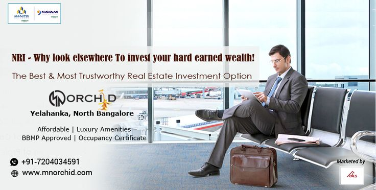 #NRIInvestment #NRI #RealEstateBangalore  Family or Friends outside India and looking for genuine Real Estate Investment Options? Show them MN Orchid, a fully ready and approved project in the heart of North Bangalore, close to the International Airport with Amenities suiting the needs of people who work in this part of Bangalore City. Appreciation of your Investment is guaranteed.  For details Contact 720.403.4591 or Visit www.mnorchid.com.