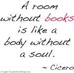 so true - i think i have some form of reading material in every single room. well, except for my closet. LOL