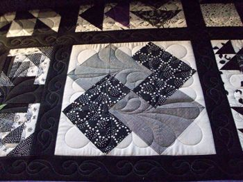 38 best Card trick quilts images on Pinterest   Beautiful ... : black and white quilt patterns free - Adamdwight.com