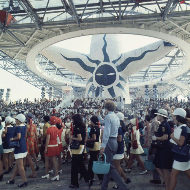 太陽の塔と大阪万博 1970年